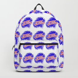 Happy 4th of July Graphic Logo Backpack
