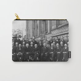 1927 Solvay Conference on Quantum Mechanics Carry-All Pouch