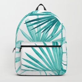 Fan Palm Leaves Jungle #3 #tropical #decor #art #society6 Backpack