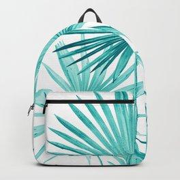 Fan Palm Leaves Jungle #3 #tropical #decor #art #society6 Backpack