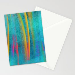 paint stroke Stationery Cards