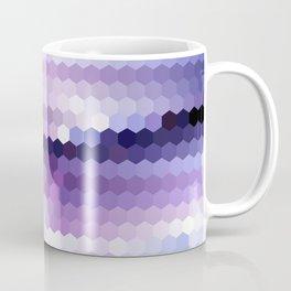 Lila hexagons Coffee Mug