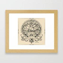 LIVE YOUR DREAMS Framed Art Print