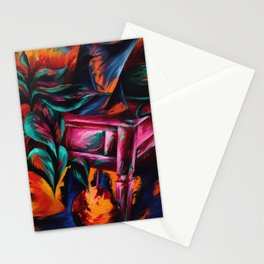 Expressionistic Still Life Stationery Cards