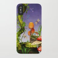 fairytale iPhone & iPod Cases featuring fairytale by Ancello