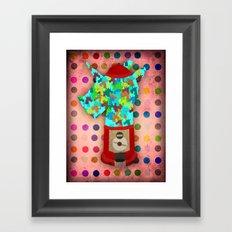 Gumball Unicorns Framed Art Print