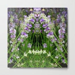 The Lavender Arch Metal Print