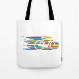 Colorful bicycle 1 Tote Bag