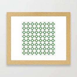 Geometric Pattern - Oriental Star Design  5 Framed Art Print