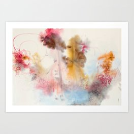 The intuitive mind Art Print