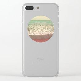 Ocean Dream I Clear iPhone Case