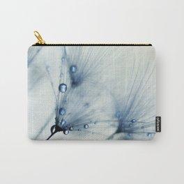 Dandelion Blue II Carry-All Pouch