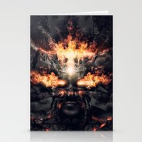 diablo Stationery Cards featuring Diablo by dracorubio