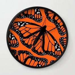 Monarching Wall Clock