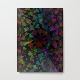 Love Rainbow Metal Print