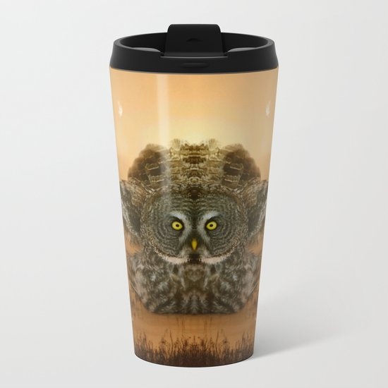 The greatest great gray of them all Metal Travel Mug