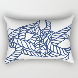 Knotical (WHITE) Rectangular Pillow
