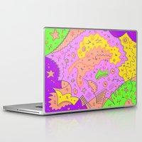 twin peaks Laptop & iPad Skins featuring Twin Peaks by Amanda Trader