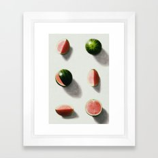 fruit 14 Framed Art Print