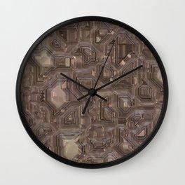 Hi-tech Wall Clock