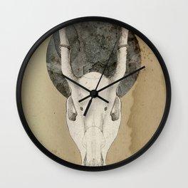 tribal moon Wall Clock
