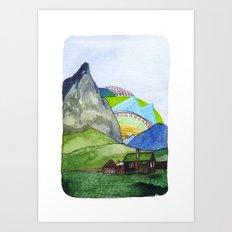 Landscapes / Nr. 6 Art Print
