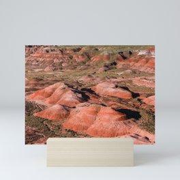 Beautiful Landscape of Painted Desert in Arizona Mini Art Print