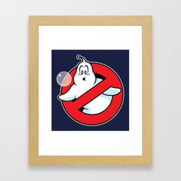Bubblebusters Framed Art Print