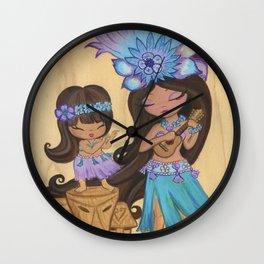 Kaylie Uklele Wall Clock