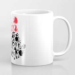 Girl mouse with the red bow Coffee Mug