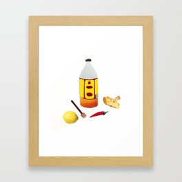 a Potion to Cure a Hangover Framed Art Print