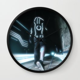 Tales of the Grid Wall Clock