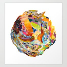Vitality Glump Art Print