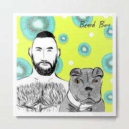 Beard Boy: Joel Metal Print