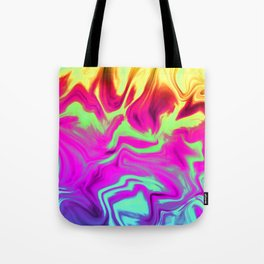 Chasing Fire Tote Bag