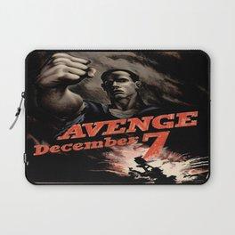 Vintage poster - Pearl Harbor Laptop Sleeve