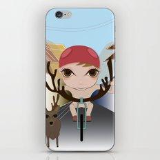 Deery Fairy Riding a Bike iPhone & iPod Skin