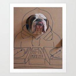 DJ Leland Art Print