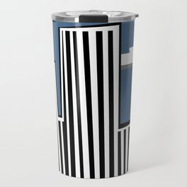 Untitled Minimalist Cityscape Three Travel Mug