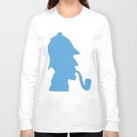 sherlock holmes Long Sleeve T-shirts featuring Sherlock Holmes by ialbert