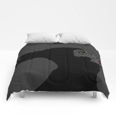 Malificent Lines Comforters