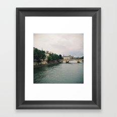 dreaming of paris Framed Art Print