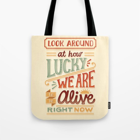 Look Around Tote Bag
