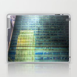 Reflections of Canary Wharf Laptop & iPad Skin