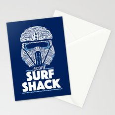 Space Surf Shack Stationery Cards