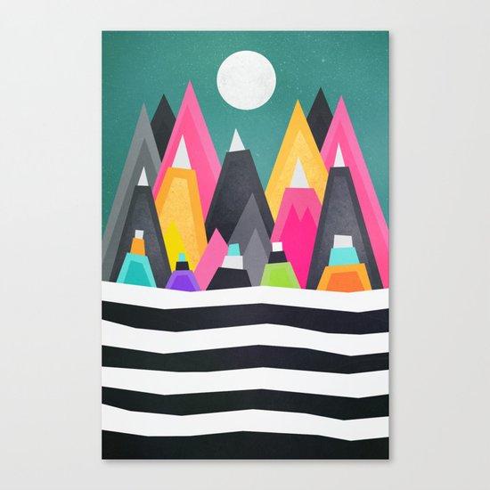 A fun place Canvas Print