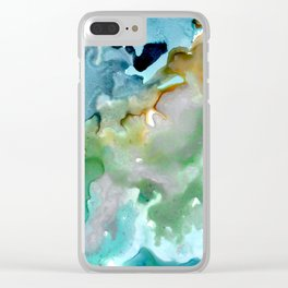 By The Shore Clear iPhone Case