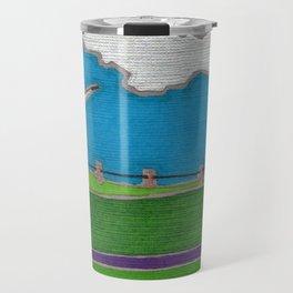 Windmill by Mali Vargas Travel Mug