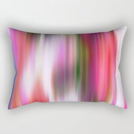 Watermelon Blur Rectangular Pillow