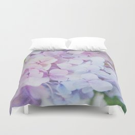 Bloomin' Fabulous Hydrangeas Duvet Cover